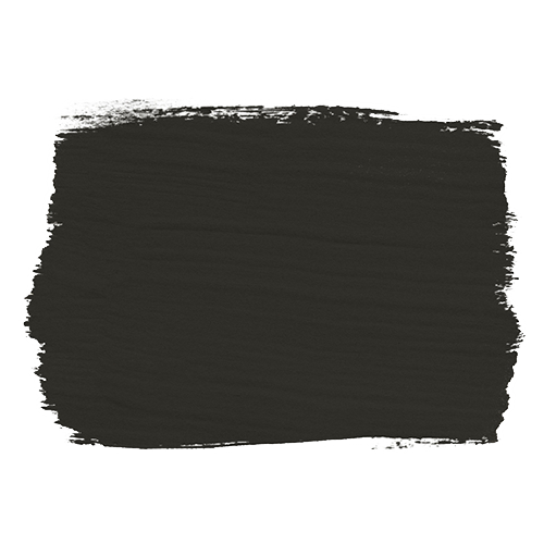 Graphite annie sloan chalkpaint for Black paint swatch