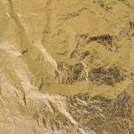 Bladmetaal goud XL