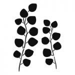 Sjabloon Eucalyptys takjes