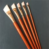 Penselenset voor bladmetaal en metallic