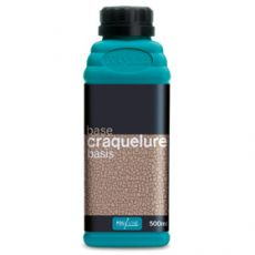 Craquele-medium Basis Polyvine 500 ml.