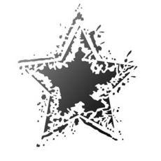 Sjabloon Rocking Star