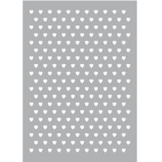 Sjabloon hartjes patroon -200
