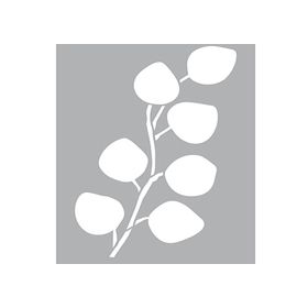 Sjabloon Eucalyptys blad