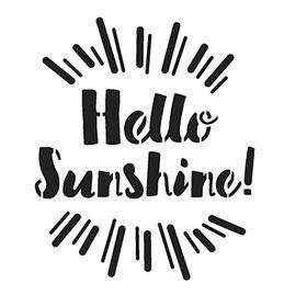 Sjabloon Hello Sunshine