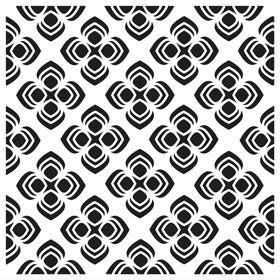 Sjabloon Peacock pattern - 239