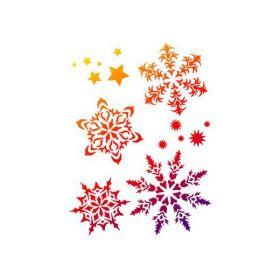Sjabloon Filigran sneeuwvlokken -228