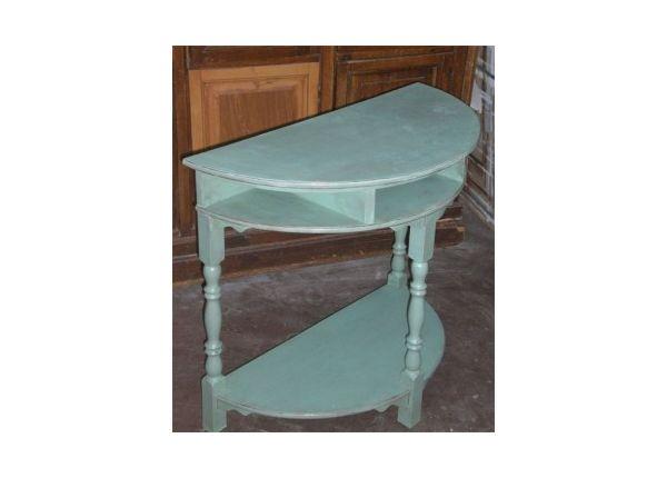 Met Provence en Old White werd het oude eiken tafeltje van Ineke lekker hip en toch niet te opvallend. De randen heeft ze met wat metaalpoeder kleur brons fijntjes geaccentueerd. Top gedaan!